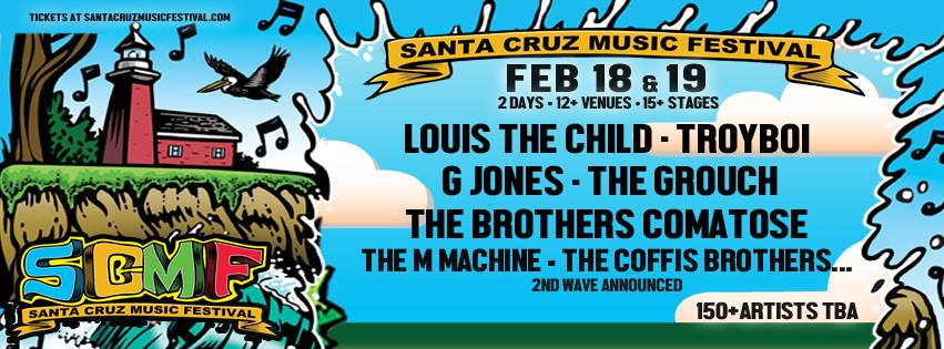 Head to Santa Cruz Music Fest for FREE! [Enter here]
