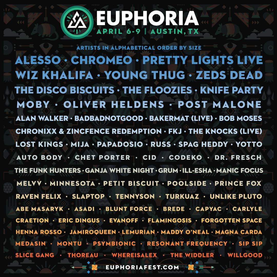 Euphoria brings Musical Diversity for 2017