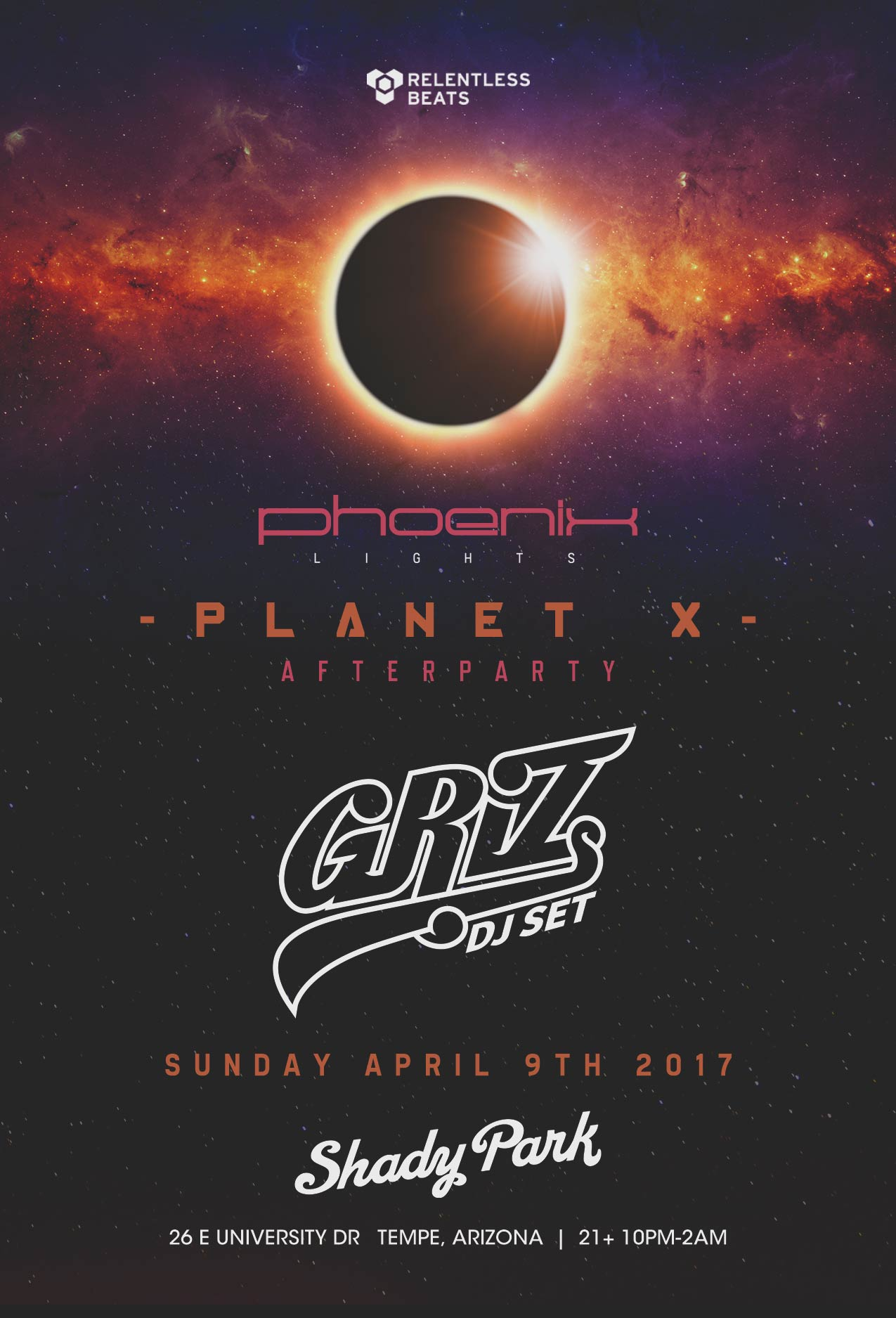 Phoenix Lights Announce 7 Major Afterparties