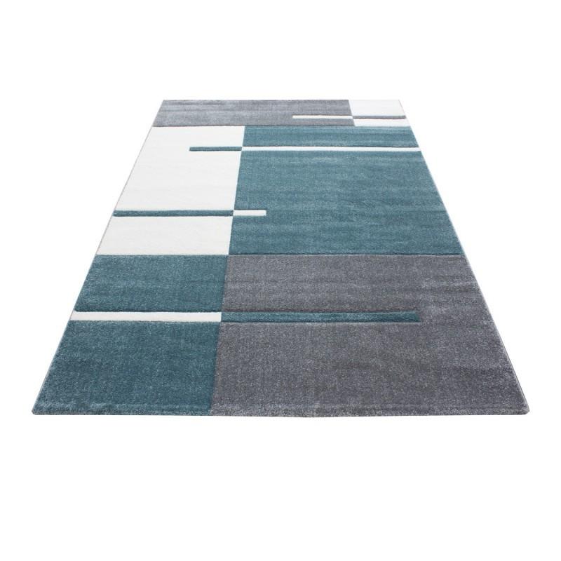 tapis frisee effet 3d design moderne harlequin