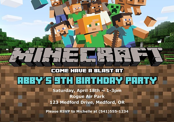 Affordable Birthday Invitations