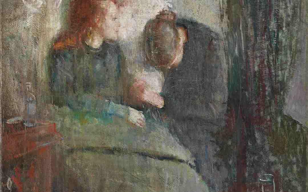 Munch és Nerdrum kapcsolata