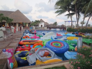 Pool Floaties at Strings and Sol
