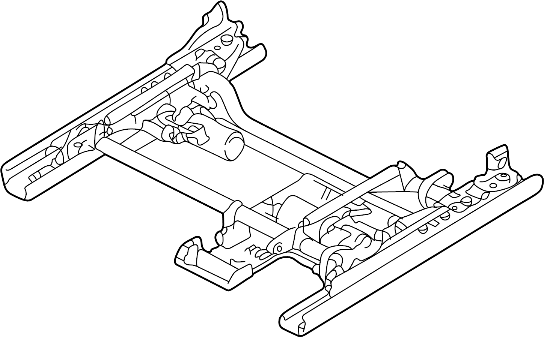 Bmw 740i Seat Adjuster Seat Rail Left Seat Track Track