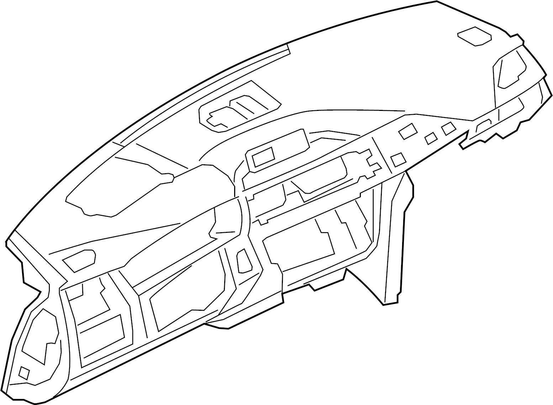 Bmw M4 Dashboard Panel Black Display Head