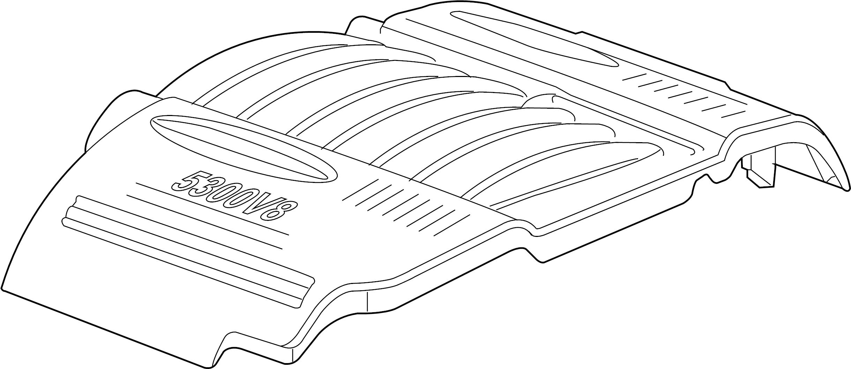 Chevrolet Impala Engine Cover 5 3 Liter Transaxle