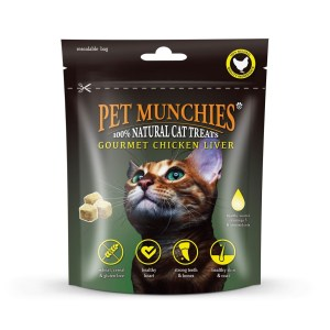 Pet Munchies Chicken Liver Cat Treat 10g