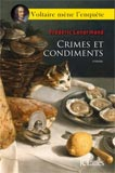 Frédéric Lenormand, Crimes et condiments