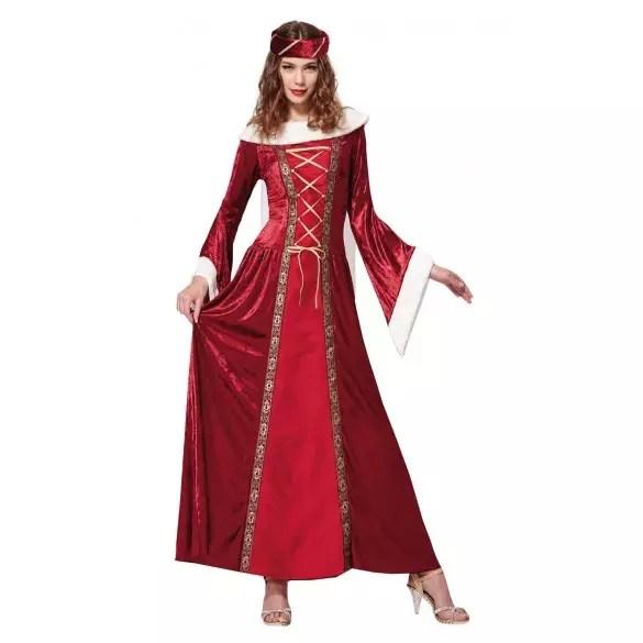 Dguisement Reine Mdival Femme Costume Bal Masqu