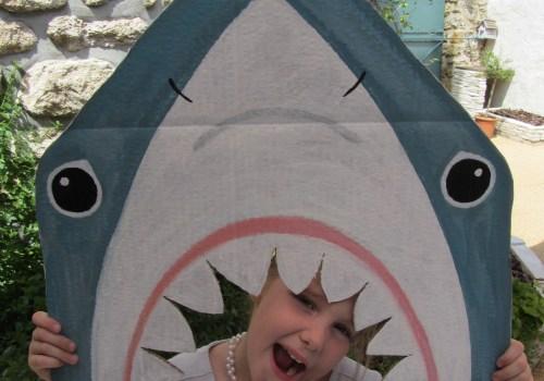 Thème Monde de la mer - Photobooth requin - Fêtes vous même