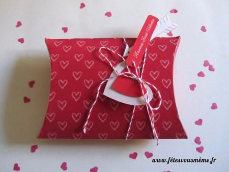 Boites cadeaux St Valentin Rouge - Fêtes vous même