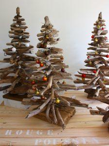 Sapin de Noël en bois flotté - Sapin de noël en palette
