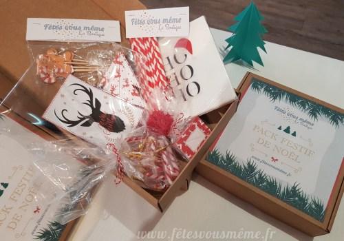Pack Festif Noël - Fêtes vous même.