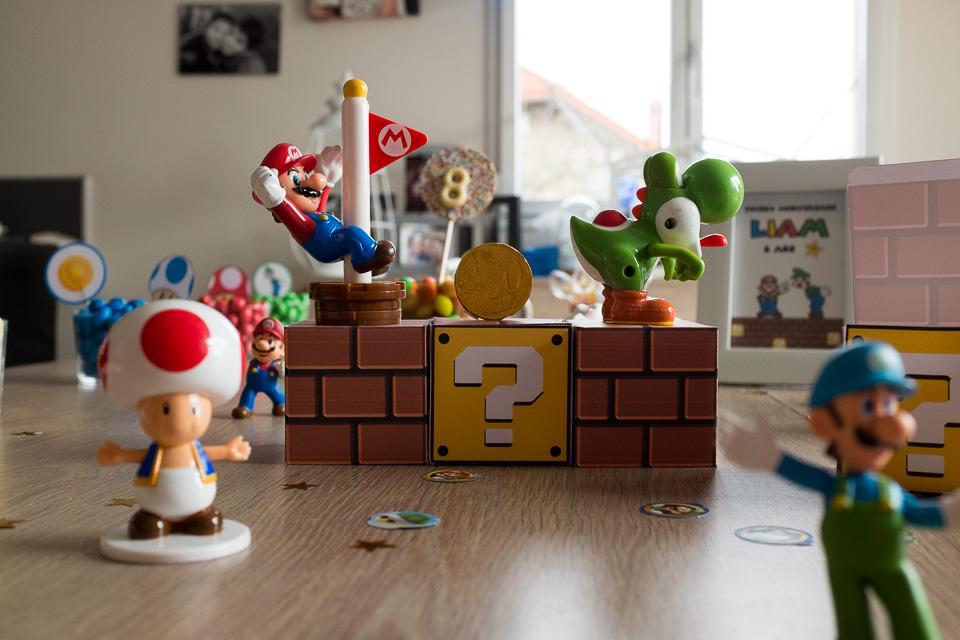 Motif Mario Bros - Fêtes vous Même