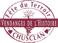 Chusclan wine logo