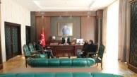 DSİ 21.Bölge Müdürlüğü'nden Kaymakam Yazgan'a Ziyaret