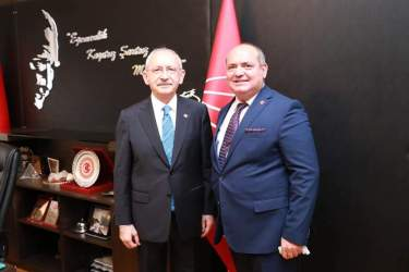 CHP'Lİ DEMİR, GENEL BAŞKAN KILIÇDAROĞLU'NU ZİYARET ETTİ