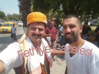 Arda Turan Fethiye'de