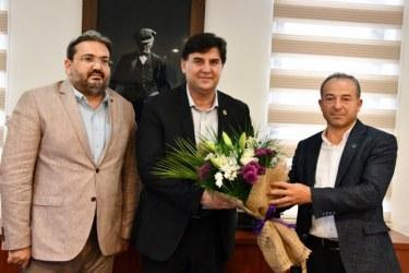 Gelecek Partisi'nden Karaca'ya Ziyaret