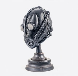 Art Leather Gas Mask ガスマスクの機能をもっていないマスクの例