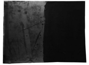 表面が劣化したラバーの例
