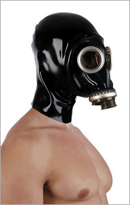 Russian gasmask GPA with hood