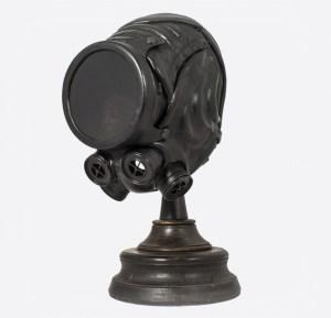 Steampunk Art Leather Dive Helmet