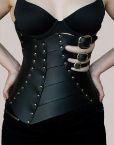 Styx Leather Corset
