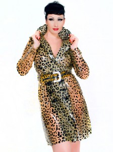 Coat 09 - Leopard short