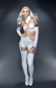 PVC Emma Frost Costume 3