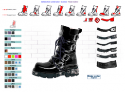 Customize New Rock Boots 3