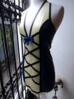 Hessa dress in blue