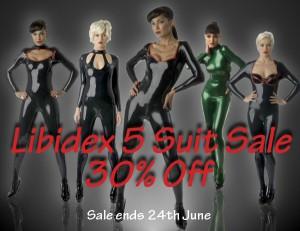 Libidex Five Catsuit Sale 2