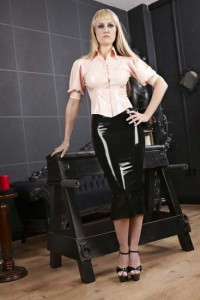 Astrid Latex Blouse