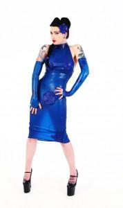 Latex Transparent Wiggle Dress