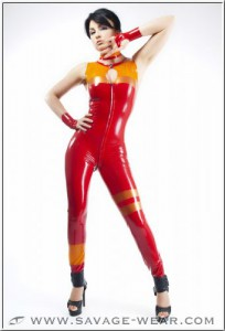 Fiery Fox Catsuit