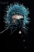 Blue Welded Oculus Mask