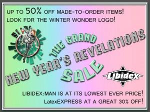 Libidex 2012 Winter Sale