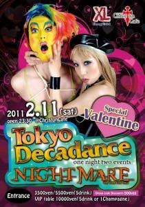 TokyoDecadance × NIGHTMARE special Valentine