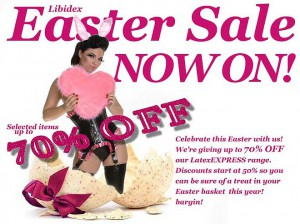 Libidex 2012 Easter Sale