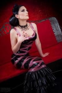 Dame De Carreau long dress