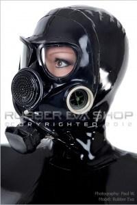 Russian-GP7-VM Rubber Hooded Gasmask
