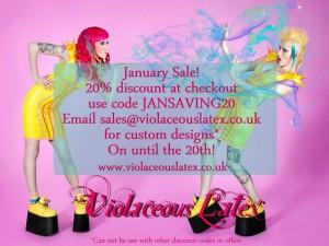 Violaceous Latex Sale