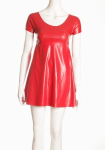 BABY DOLL DRESS - RED