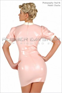 Sexy Rubber Nurse Dress 3