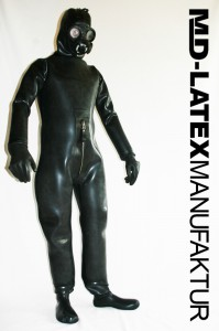 Super Heavy Rubber Suit