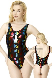 Body Elastane Multicolor Design 01