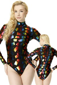 Body Elastane Multicolor Design 04