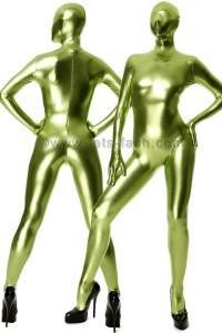 Catsuit Shiny Verde