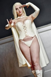 Latex Cosplay Emma Frost 1